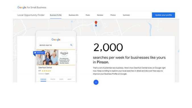 Google rolls out Local Opporutnity Finder to help businesses up their Local 28